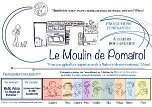 affiche moulin pomairol